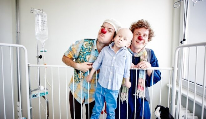 Доктора-клоуны приглашают пожертвовать изделия ручной работы для благотворительного Pop-up магазина