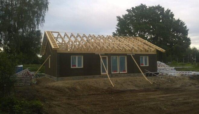 ФОТО. Собственный опыт: как построить дом за полгода