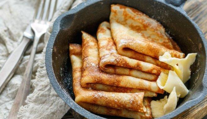 Knifs, kā izcept gardas pankūkas bez liekām taukvielām un piedūmotas virtuves
