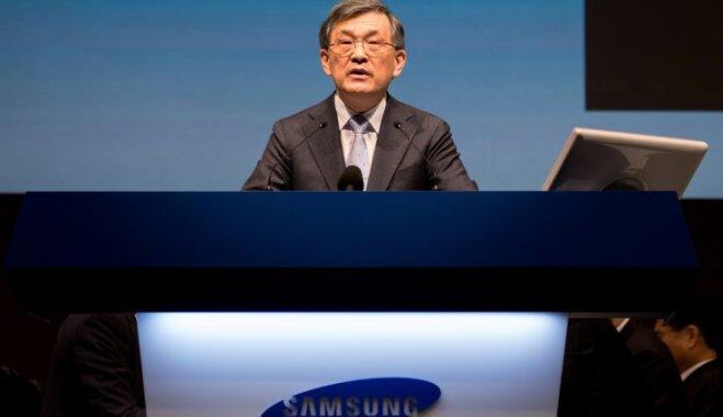 Глава Samsung Electronics подал в отставку