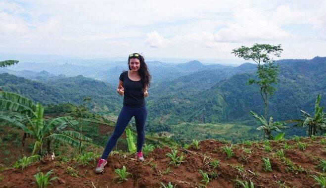 Pazust džungļos, tikties ar prusakiem un izbaudīt brīvību: latviešu meitenes piedzīvojumi Indonēzijā