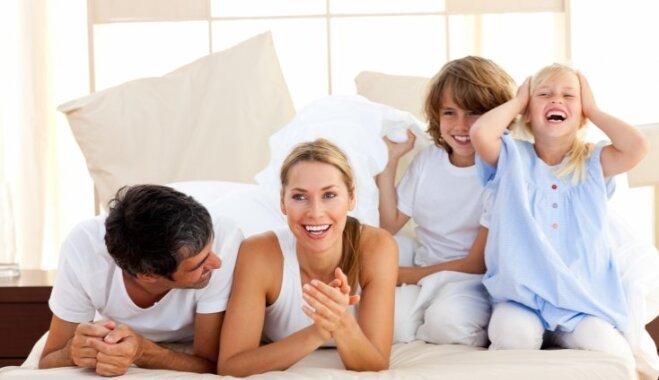 Laimīgi bērni un vecāki – priekšnoteikumi harmoniskai attīstībai