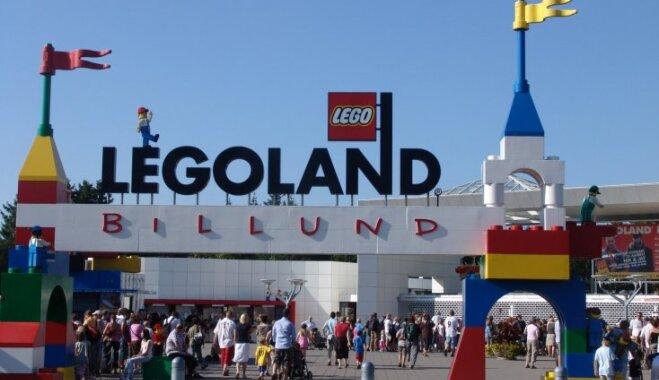 Nedēļas nogale Dānijas 'Legolandē'