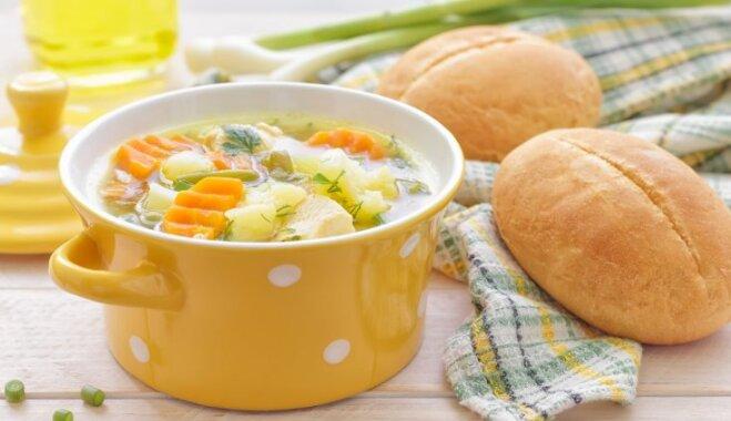 Фасолевый суп – классический пошаговый рецепт