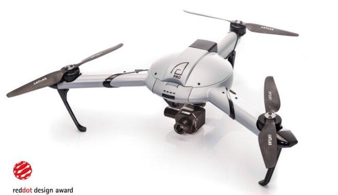 Разработанные в Латвии дроны Atlas Pro получили престижную международную награду