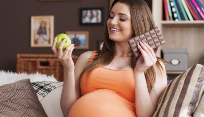 Mazāk sāls un cukura – veselīgs uzturs grūtniecības un mazuļa barošanas laikā
