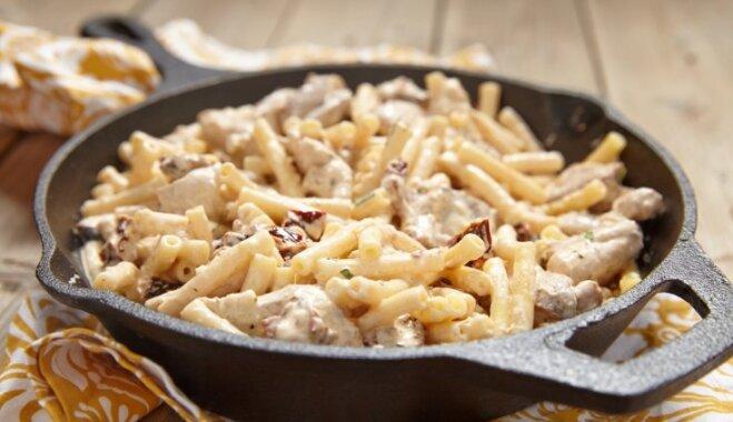 No vistas līdz garnelēm: dažādas variācijas vakariņām saldā krējuma mērcē