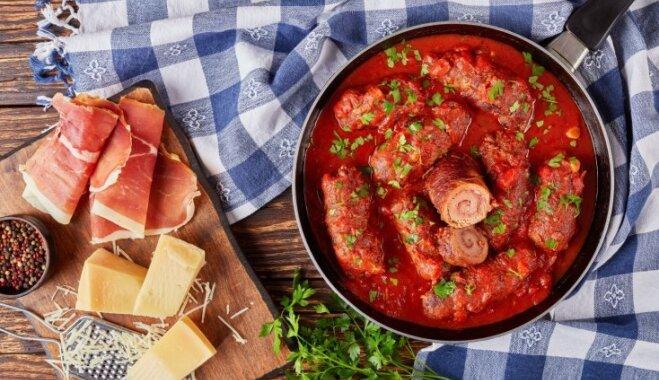 Bracciole или сочные мясные биточки по-итальянски