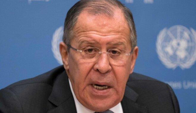 ASV palīdzējusi panākt diskvalifikāciju no olimpiskajām spēlēm, uzskata Lavrovs