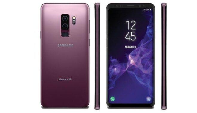ФОТО: Новый Samsung Galaxy S9 получит корпус очень крутого пурпурного цвета