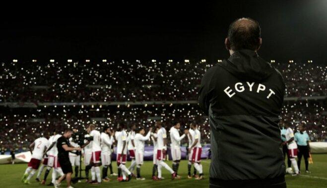Ēģiptes futbola izlasi Pasaules kausā uzraudzīs iespaidīga mediķu brigāde