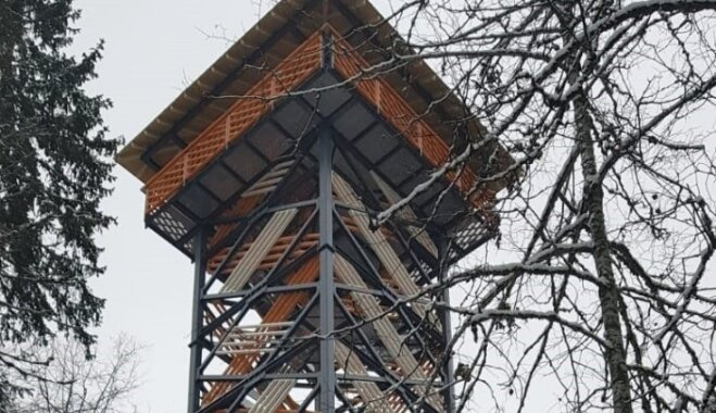 """ФОТО. В заповеднике """"Большие Кангари"""" появились новая туристическая тропа и смотровая башня"""