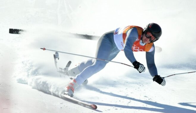XXIII Ziemas olimpisko spēļu rezultāti kalnu slēpošanas Alpu kombinācijas disciplīnā (13.02.2018.)