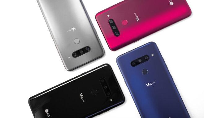 LG представила флагманский смартфон с пятью камерами