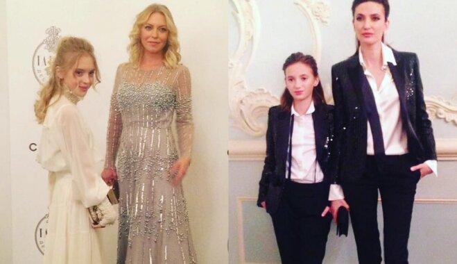 Дочери Маликова и Литвиновой выгуляли бриллианты на балу Tatler