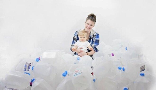 Mamma no ASV ziedo gandrīz 500 litru krūts piena svešiem mazuļiem
