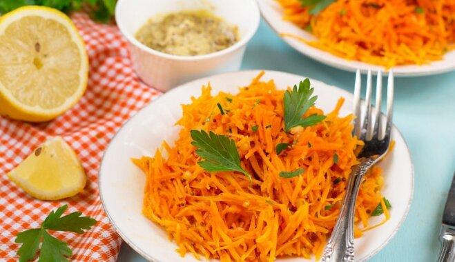 Viss par figūrai draudzīgiem salātiem: noderīgi knifiņi un mazkaloriju mērces