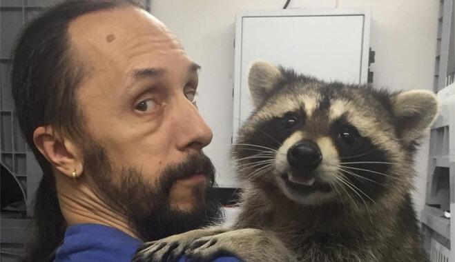 Jenots Jaša, kas piestrādā veterinārajā klīnikā Krievijā