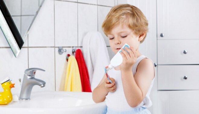 Bērnudārzus mudina pieteikties nodarbībām par veselīgu uzturu un zobu kopšanu