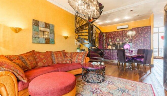 Košuma cienītājiem: austrumnieciska stila dzīvoklis Rīgā