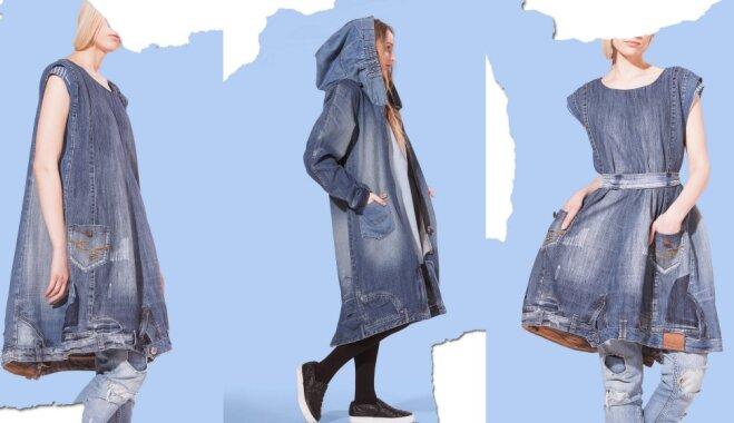 Pašmāju zīmols 'Zīle' piešķir džinsam otro elpu un izrāda savu jauno apģērbu kolekciju