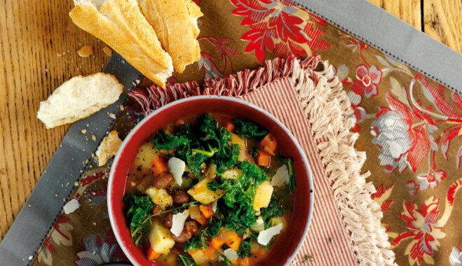 16 сытных супов с фасолью: консервированной и свежей