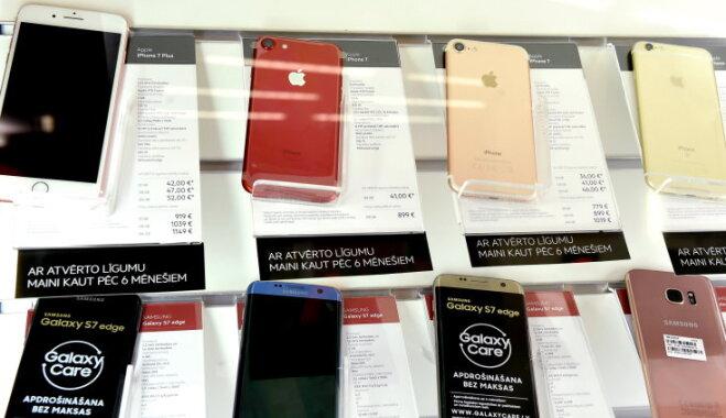 Латвия почти вошла в Топ-10 стран, в которых Apple iPhone 7 стоит дороже всего