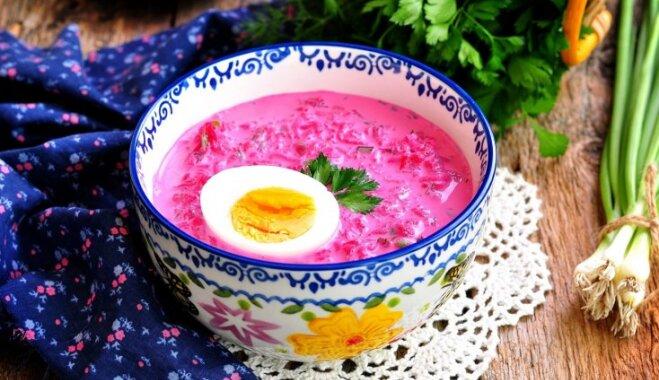 Свекольник, окрошка, таратор, гаспачо - холодный суп на любой вкус