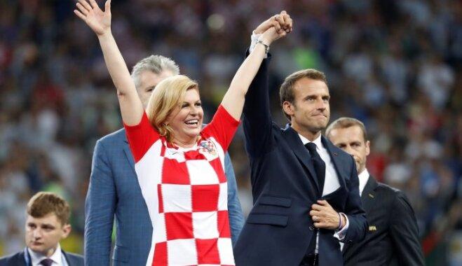 Президент Хорватии по-русски обратилась к российским болельщикам
