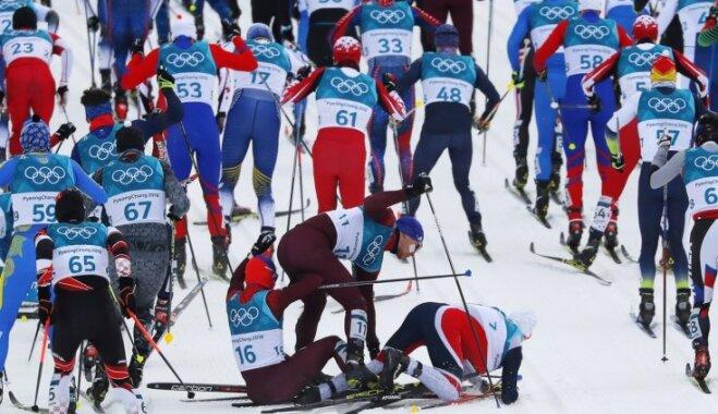XXIII Ziemas olimpisko spēļu rezultāti distanču slēpošanā vīriešiem skiatlonā (10.02.2018.)