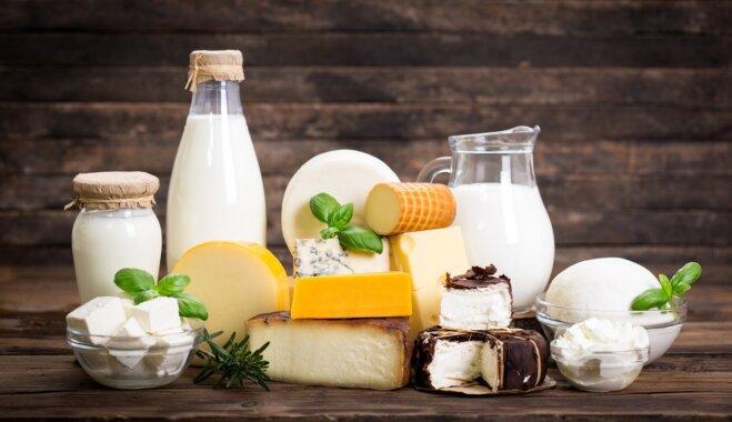 Kā iekļaut ēdienkartē vairāk piena produktu?