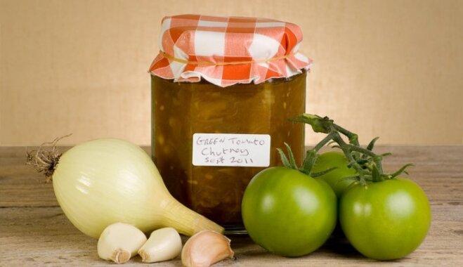 Zaļo tomātu lečo