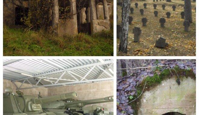 Veļu laika maršruts: Pirmā pasaules kara bunkuri un liecības Daugavpils apkaimē