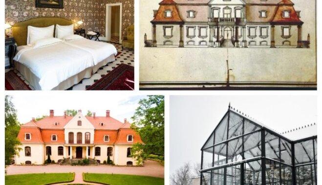 Ceļojums laikā: Atdzimusī Zviedrijas karaļa miesassarga muiža Liepupē