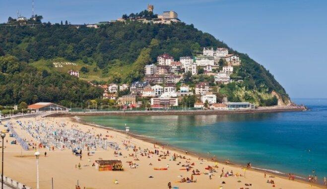 Nosauktas Eiropas labākās pludmales – pirmajā vietā ierindota Spānijas piekraste