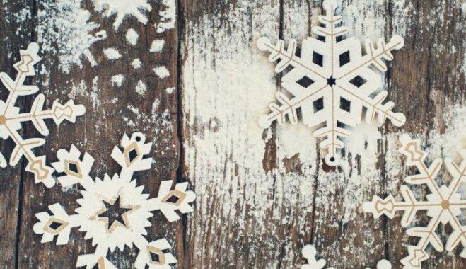 Sniegs bez sniega - idejas pasakainam noformējumam