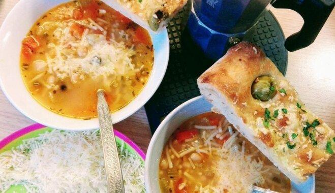 Minestrone – garda dārzeņu zupa itāliešu gaumē