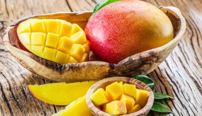 Vitamīnu uzņemšanai un veselības stiprināšanai. Kāpēc ēst eksotisko mango un kad tas var kaitēt