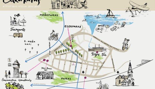 'Radi Rīgu' piedāvā dzirkstošas vīzijas Rīgas apkaimju atjaunošanai