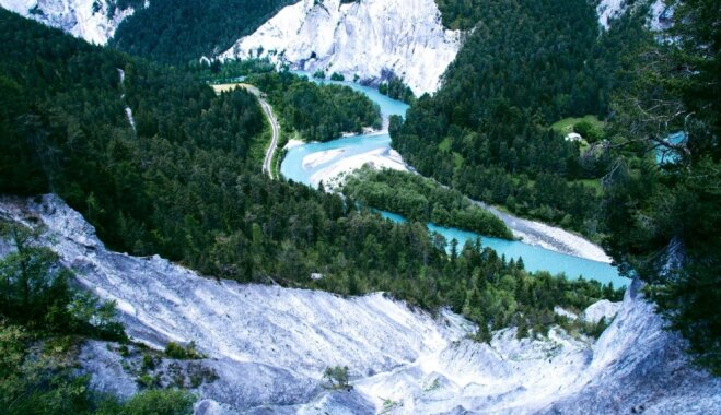 Ainaviskais Šveices kanjons, kas liks elpai aizrauties