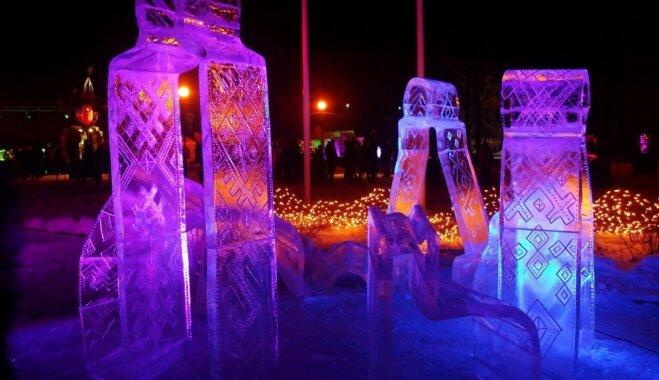 На выходных в Литве состоятся два фестиваля ледовых скульптур