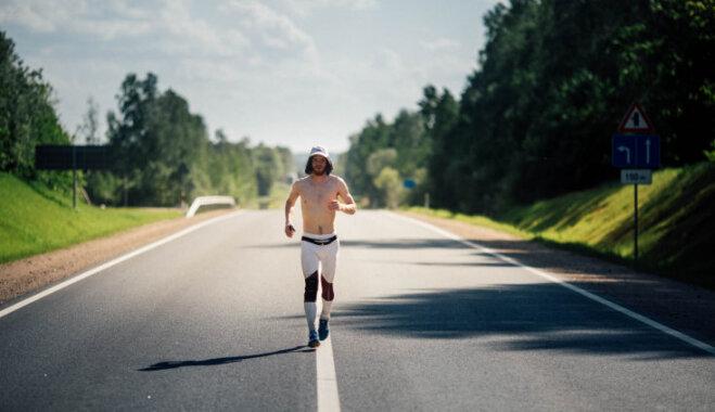 Dins Vecāns pēc skrējiena apkārt Latvijai: skriešana nav mans pašmērķis