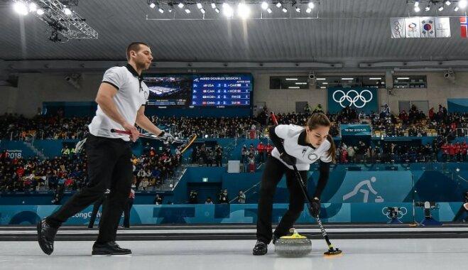 В Пхенчхане начались олимпийские соревнования: у России — первая победа в керлинге