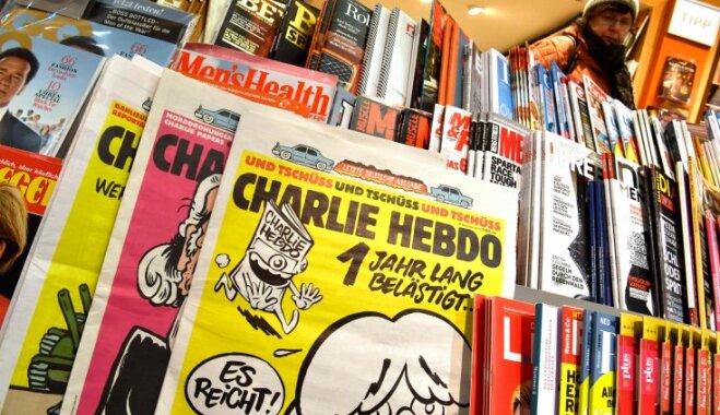 Charlie Hebdo сравнил футболистов сборной Франции с обезьянами