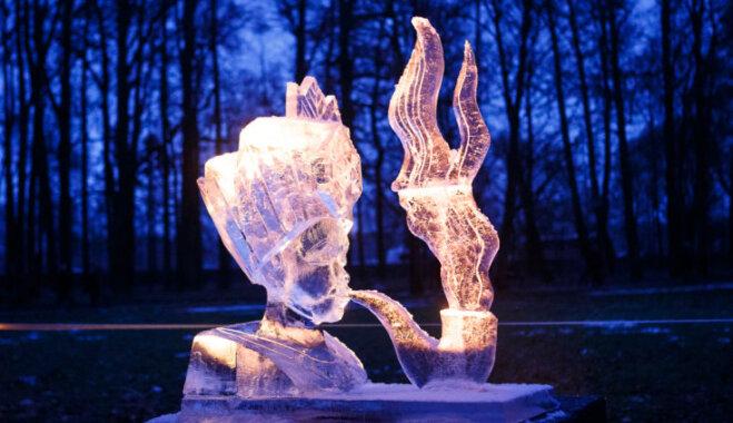 Pakrojas muižā norisināsies ledus skulptūru un uguns festivāls 'Ledus karaliste'