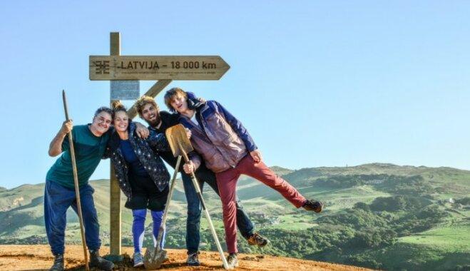 Video. Ceļš uz Jaunzēlandi – 15 valstis 15 mēnešos