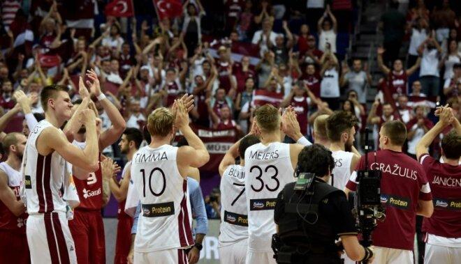 Евробаскет: Сборная Латвии победила турок и получила Черногорию в 1/8 финала