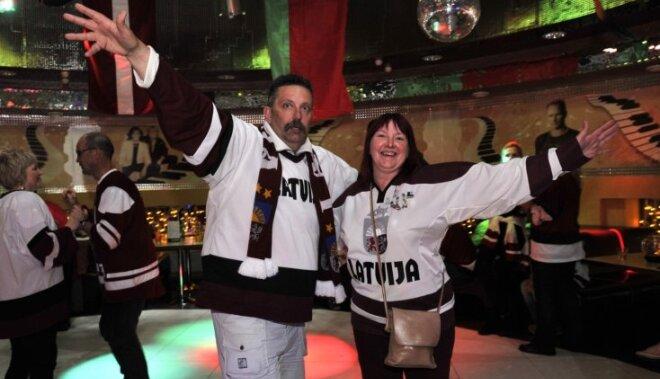 Latvijas hokeja fani arī šogad PČ varēs lustēties latviskā gaisotnē krodziņā 'Prāgas Baltie krekli'