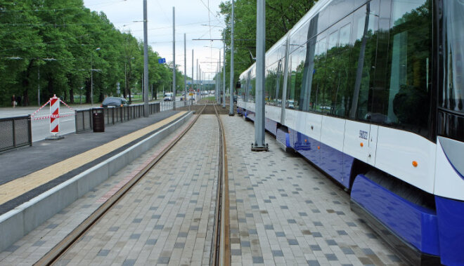 СЗК пообещал трамвайную линию в Пурвциемсе и Плявниеках, если Ушаков будет смещен