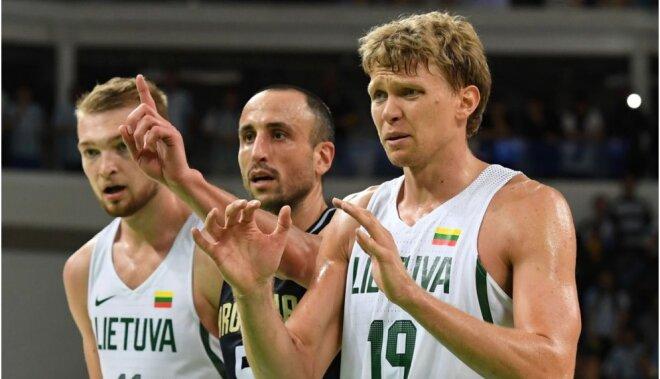 Lietuvas basketbolisti ar svarīgu panākumu pār Argentīnu turpina uzvaru sēriju Rio